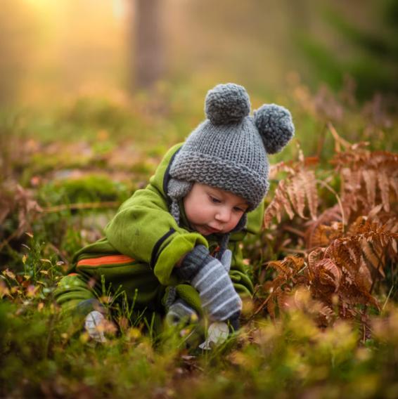 W co ubrać maluszka jesienią